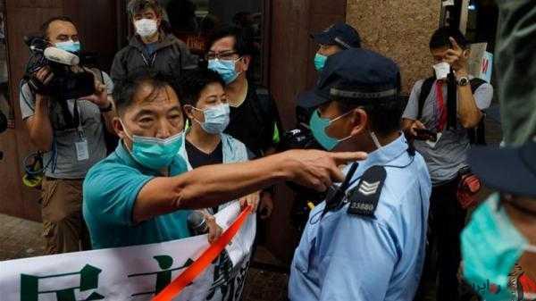 مردم هنگکنگ در اعتراض به طرح دولت چین به خیابان آمدند