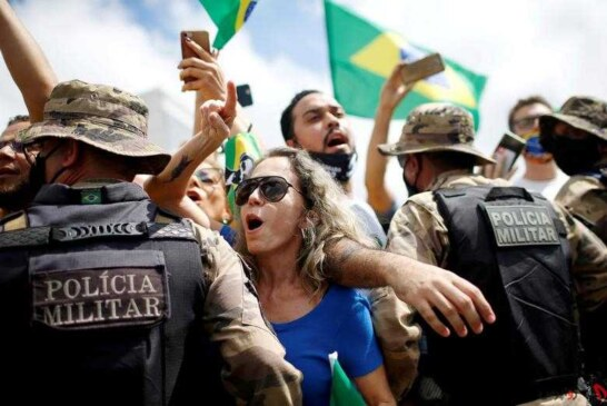 فاجعه کرونا در برزیل