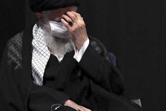 مراسم عزاداری شب هشتم ماه محرم با حضور رهبر انقلاب برگزار شد