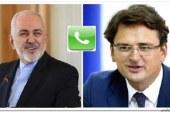 وزرای خارجه ایران و اوکراین درباره هواپیمای اوکراینی تبادل نظر کردند
