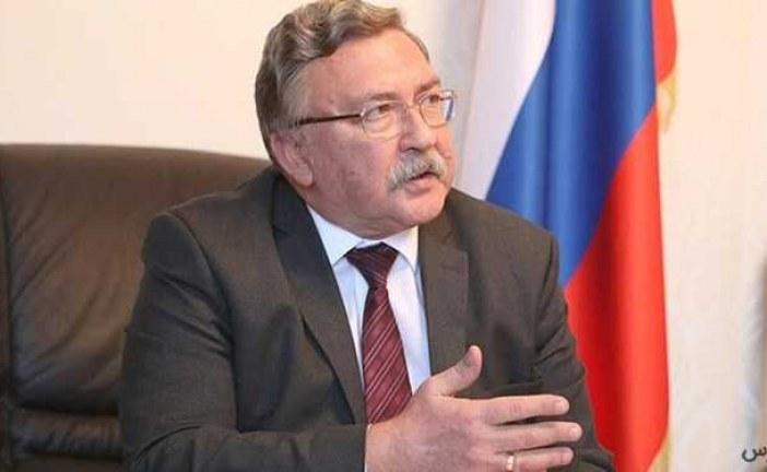 اولیانوف خطاب به آمریکا / اگر تحریمی باقی نمانده، چرا به دیپلماسی روی نمیآورید؟