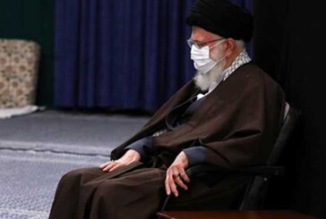 مراسم عزاداری رحلت رسول اکرم(ص) و شهادت امام مجتبی(ع) در محضر رهبر انقلاب