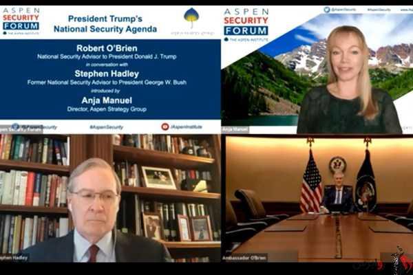 مشاور امنیت ملی کاخ سفید: آمریکا به دنبال برچیده شدن برنامه هستهای ایران است