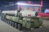 کره شمالی از بزرگترین موشک قارهپیمای خود رونمایی کرد