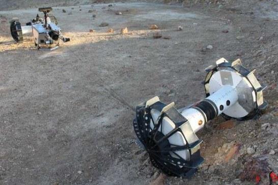 مریخنورد جدید ناسا برای کشف دهانهها دو نیم میشود