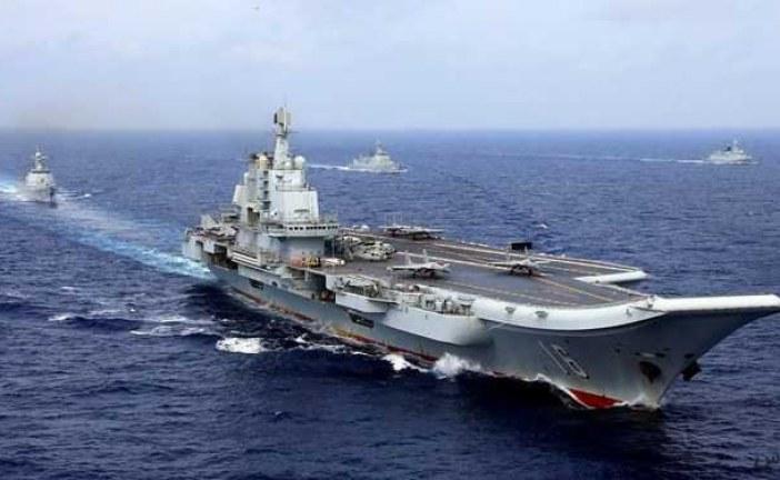 نیروی دریایی چین یک ناو متجاوز آمریکا را از آبهای خود بیرون راند