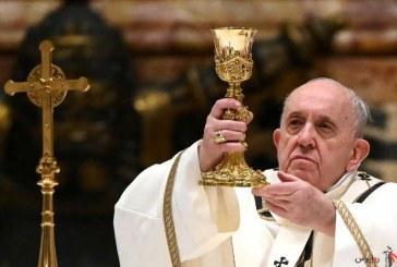 در پیام سال نو مسیحی / پاپ : واکسن کرونا در اختیار همگان قرار گیرد