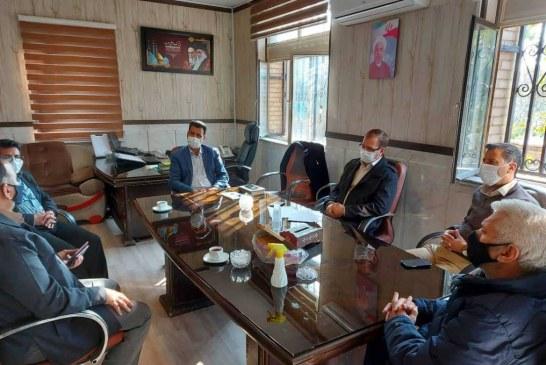 """نشست صمیمی مسئولان کانون مرکزی خدمت رضوی شهرستان ری با """" دکتر یزدان پناه """" رییس آموزش و پرورش ناحیه 2 آن شهرستان"""
