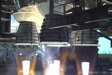 ناسا دومین آزمایش موشک جدید ماموریت ماه را به پایان رساند