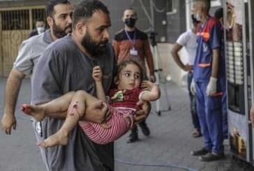 هفتمین روز حملات رژیم صهیونیستی به غزه/ ۱۴۵شهید از جمله ۴۱ کودک/خشم گوترش از هدفگیری غیرنظامیان