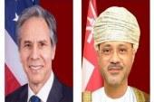 وزیران خارجه آمریکا و عمان در باره تحولات منطقه گفت و گو کردند