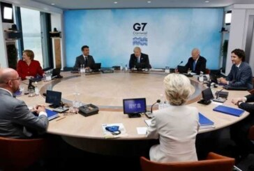 ابراز نگرانی نخست وزیر ژاپن نسبت به چین در اجلاس سران گروه ۷