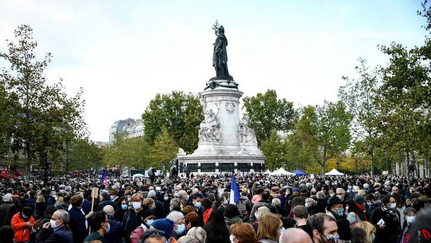 تظاهرات سراسری علیه راست گرایان افراطی در فرانسه