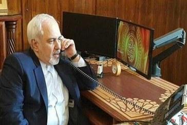 گفتوگوی تلفنی ظریف و وزیر خارجه امارات