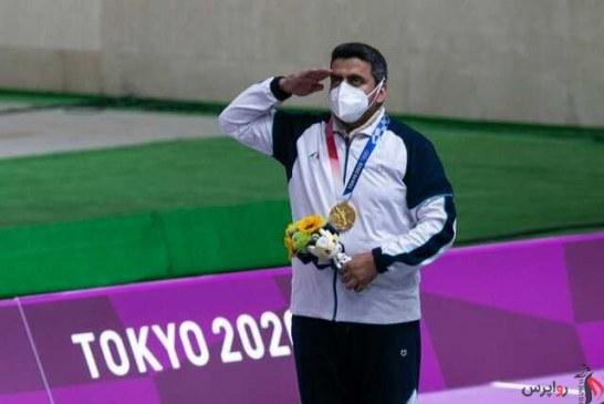 پایان خوش ایران در دومین روز بازی های المپیک با تیر طلایی ( فروغیِ نقطه زن )