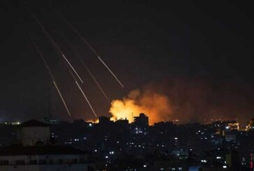 شلیک بیش از 10 موشک از غزه به سرزمینهای اشغالی/ گنبد آهنین فعال شد