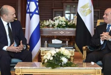 نفتالی بنت: با السیسی درباره تهدیدهای ایران و حماس صحبت کردم