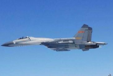 رهگیری هواپیمای جاسوسی آمریکا توسط جنگندههای چینی در نزدیکی تایوان
