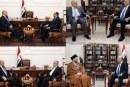 آغاز دیدار «برهم صالح» با رهبران ائتلافها و گروهای شیعه عراق در بغداد